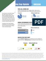 Widening Gap Oregon Factsheet