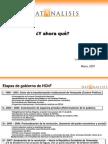 Dataanalisis 2009