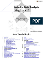 Stat a Tutorial