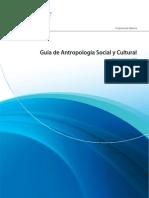 Guia Antropologia Social y Cultural 2010