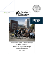 East Los Angeles College 2011 ASME HPVC Student Design Report (final).pdf