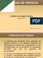 Cobertura de Vertices Paulo Afonso
