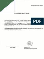 Certificado Afiliacion AFP Alvaro Zapata