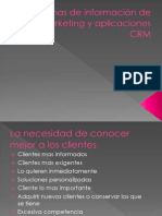 Sistemas de Infromacion de Marketing y Aplicaciones CRM