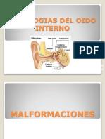 Patologias Del Oido Interno