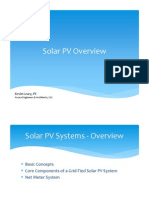 Solar PV Overview - Kevin Leary December 2011