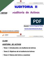 CLASE- Auditoria a Activos