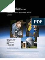 Permission to Dream - 2003 Annual Report