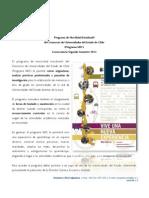 Convocatoria MEC II 2012