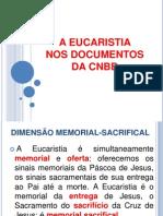 A Eucaristia Nos Documentos Da Cnbb