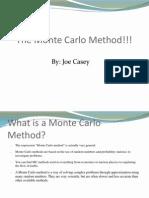 The Monte Carlo Method