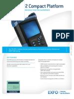 Exfo Ftb-200v2 Otdr spec sheet
