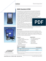 Noyes m200 Otdr Spec Sheet