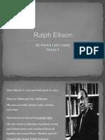 Karina Lopez's Ralph Ellison PowerPoint