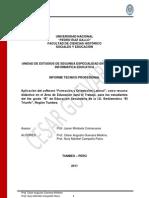 Informe Tecnico Ii_cesar Guevara