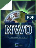 Nwo Catalogo 2009_2010
