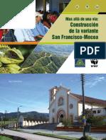 Cartilla, Construcción de la Variante San Franciso-Mocoa
