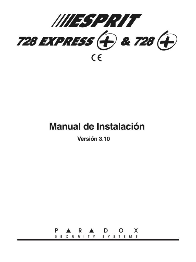 Esprit 728 Express y 728 + v 3.1 Manual Instalacion Esp