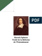 Baruch Spinoza - Traité de la Réforme de l'Entendement
