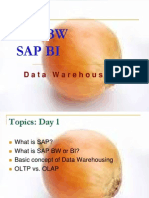SAP BW Lecture 1