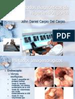 Métodos diagnósticos de hipertensión portal
