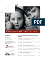 Child Poverty - report card 2011
