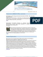 Newsletter 33 2011