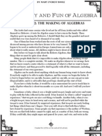 Philosophy and Fun of Algebra 003 Chapter 2 the Making of Algebras