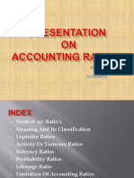 Accounting Ratio's