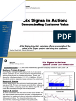 Lease Buyout Cost Reduction Six Sigma Case Study