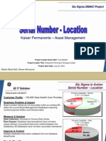 Location Accuracy Six Sigma Case Study