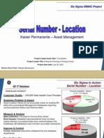 Location Accuracy Six Sigma Case Study