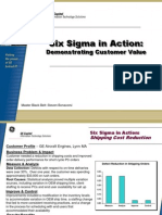 PC Shipping Improvement Six Sigma Case Study