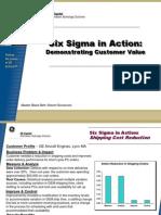 PC Shipping Improvement Six Sigma Case Study