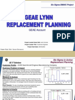 Replacement Planning Six Sigma Case Study