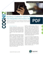 Building a Customer-Centric Business via Integrated Information Management