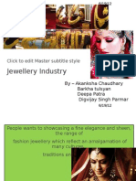 Market Research on Jewellery Industry