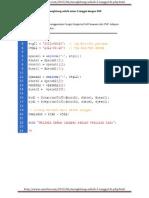 Menghitung Selisih Antar 2 Tanggal Dengan PHP