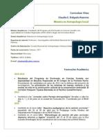 CV Claudia E. Delgado Ramírez