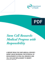 Stem Cell Research-medical Progress With Responsibility-case Study