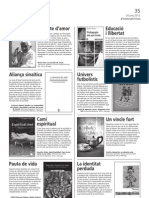 """""""Valors franciscans"""" en la revista Catalunya Cristiana"""