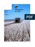 the Classification of Cotton