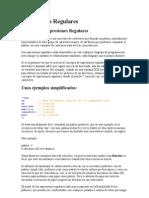 Expresiones Regulares en PHP
