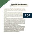 Analisa Tipe Kontrak Dan Pola Pembiayaan Pada Proyek Hotel Dan Menejemen Pelaksanaan