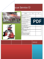 Fire and Rescue Serives Leaflet