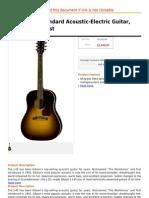 Gibson J-45 Standard Acoustic-Electric Guitar, Vintage Sunburst