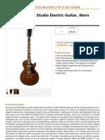 Gibson Les Paul Studio Electric Guitar, Worn Brown Satin.pdf