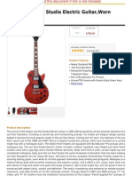 Gibson Les Paul Studio Electric Guitar,Worn Cherry Satin.pdf