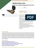 SKB 56 LP-Style Molded Guitar Case