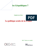 EG7 Politique Arabe France